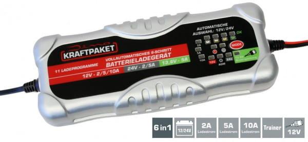 DINO KRAFTPAKET Batterieladegerät 12V/24V · 10A
