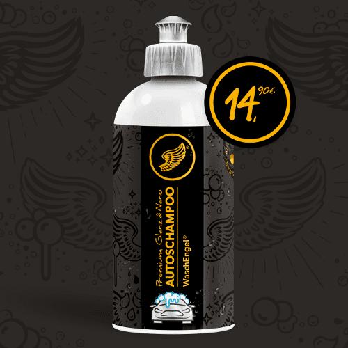 WaschEngel Premium Glanz & Nano Autoschampoo 500 ml